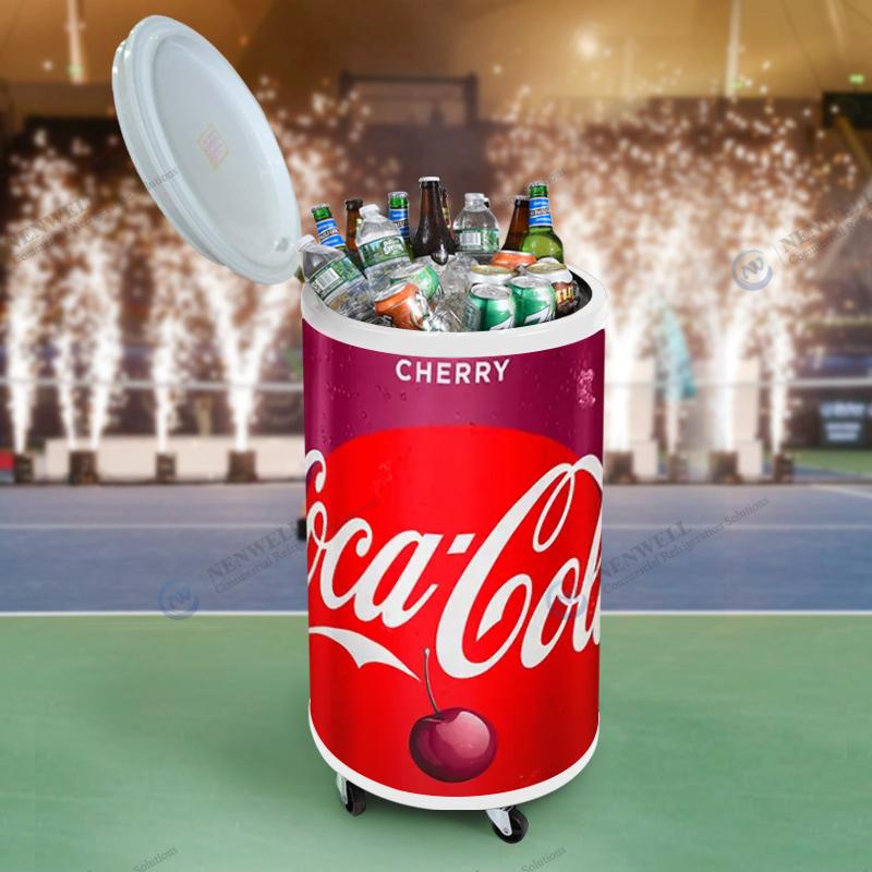 Commercial Branded Party Beverage And Beer Cooler Fridge