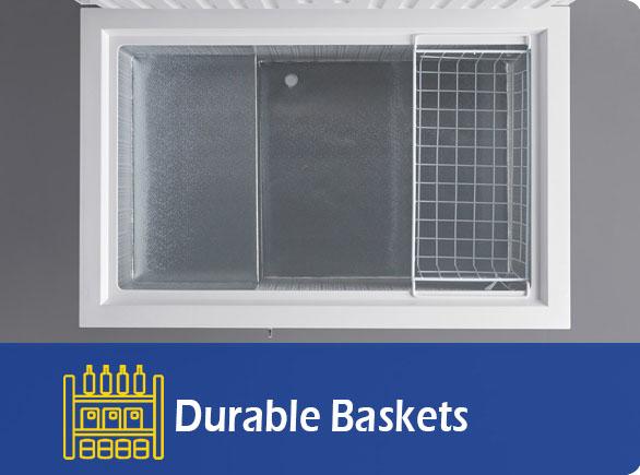 Durable Baskets   NW-BD100-150-200 storage chest freezer