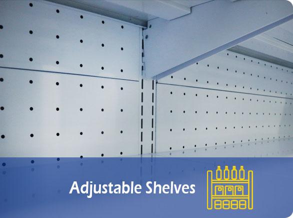 Adjustable Shelves | NW-BLF1080 vegetable showcase