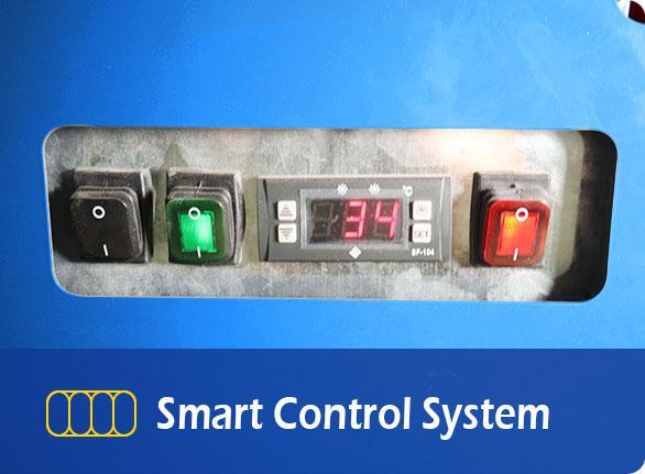 Smart Control System | NW-DG20-25-30 island freezer