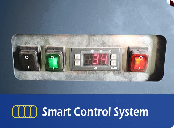 Smart Control System | NW-DG20SF-25SF-30SF island refrigeration