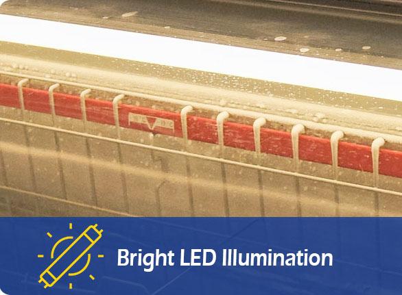 Bright LED Illumination | NW-DG20SF-25SF-30SF grocery island refrigeration
