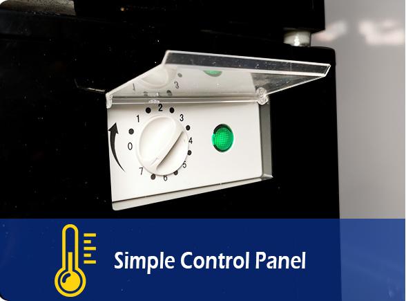 Simple Control Panel   NW-LG232B-282B-332B-382B glass chiller fridge