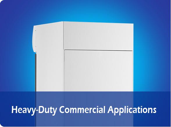 Heavy-Duty Commercial Applications   NW-LG232B-282B-332B-382B upright display chiller