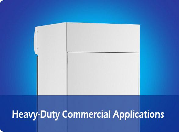 Heavy-Duty Commercial Applications   NW-LG268F-300F-350F-430F-660F glass door showcase