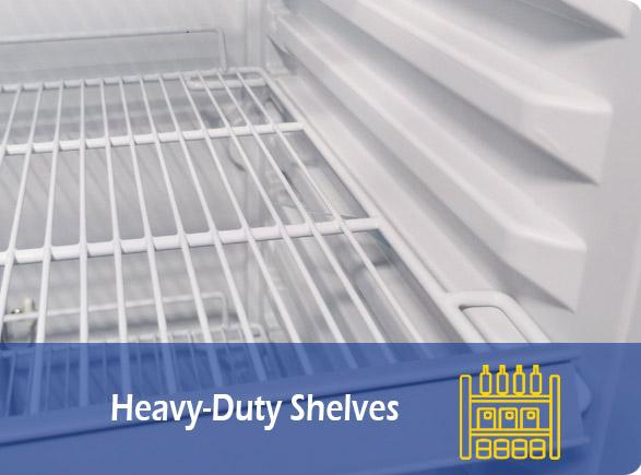 Heavy-Duty Shelves   NW-LG268F-300F-350F-430F-660F single glass door upright showcase