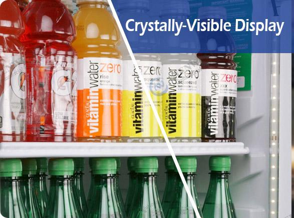Crystally-Visible Display   NW-LG800PFS-1000PFS sliding door fridges
