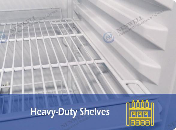 Heavy-Duty Shelves   NW-LG800PFS-1000PFS double sliding door fridge