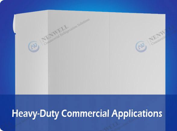 Heavy-Duty Commercial Applications   NW-LG800PFS-1000PFS sliding door fridges