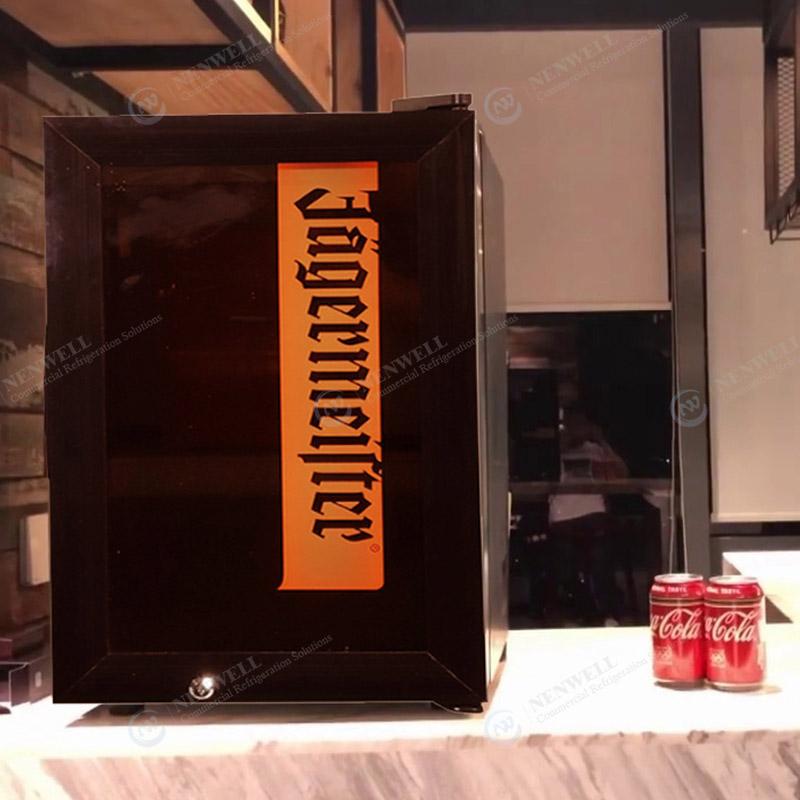Commercial Small Glass Door Countertop Beverage Display Fridges