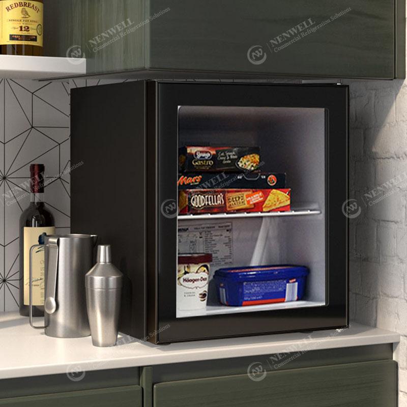Commercial Small Ice Cream Countertop Glass Door Display Freezers