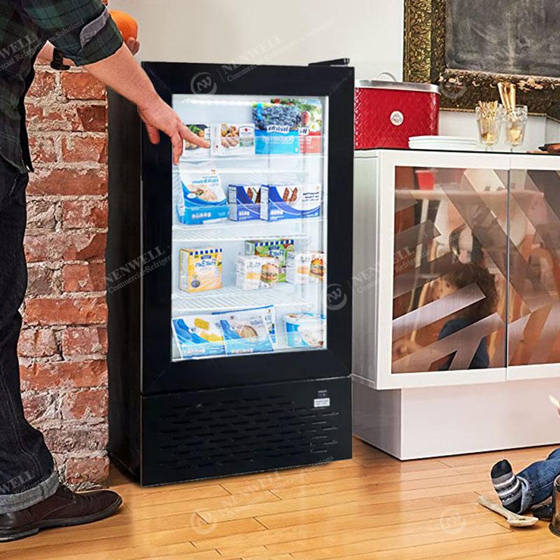 Commercial Mini Ice Cream Deep Frozen Storage Countertop Display Freezers