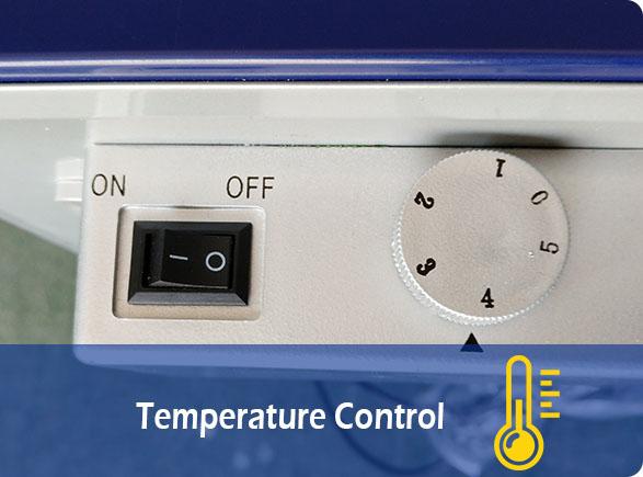 Temperature Control | NW-SD55 Table Top Freezer Glass Door