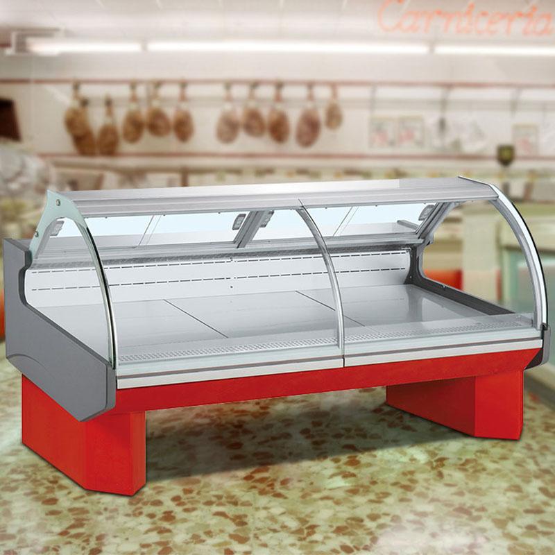 Commercial Supermarket Remote Deli Display Chiller Refrigerator Cabinets