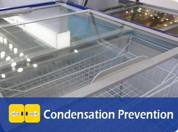 Condensation Prevention | NW-WD150 chest freezer