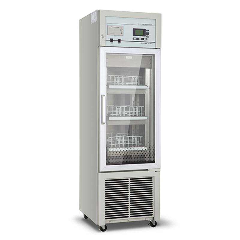 2ºC~6ºC Upright Single Glass Door Blood Storage Refrigerator